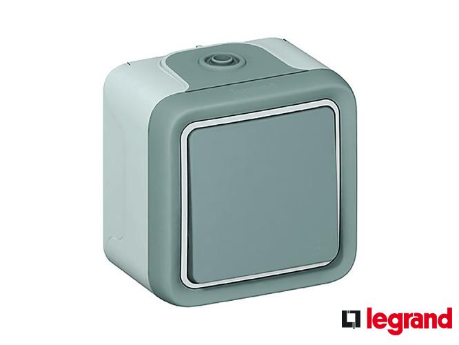 Розетки та вимикачі Legrand Plexo
