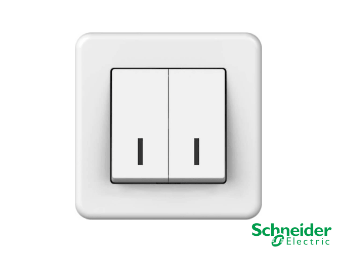 Розетки та вимикачі Schneider Electric Leona