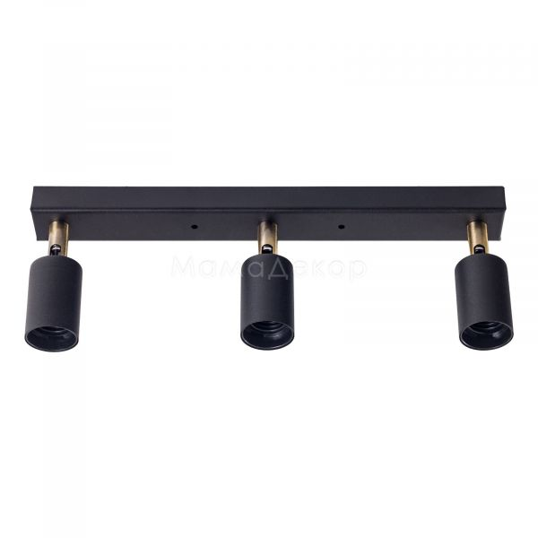 Спот Atmolight Chime L60-3 Black, колір — чорний