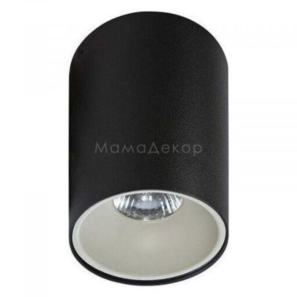 Точковий світильник Azzardo AZ0818   AZ0822 Remo BK Remo R WH, колір плафону — чорний, білий, колір основи — чорний