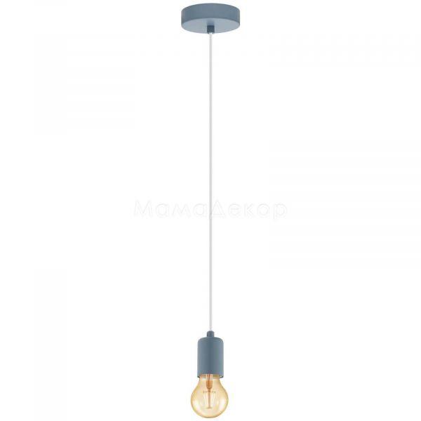 Підвісний світильник Eglo 49021 Yorth-P, колір — сірий