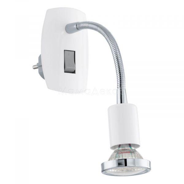 Бра Eglo 92934 Mini 4, колір плафону —  хром, колір основи — білий