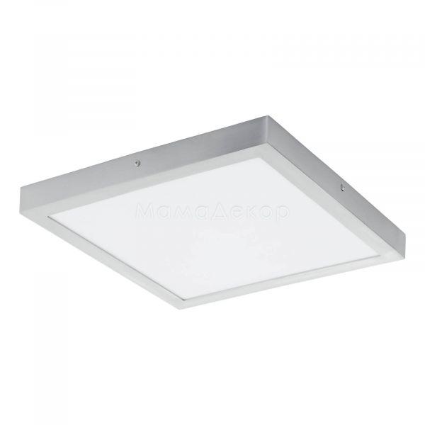 Стельовий світильник Eglo 97265 Fueva 1, колір плафону — білий, колір основи — алюміній