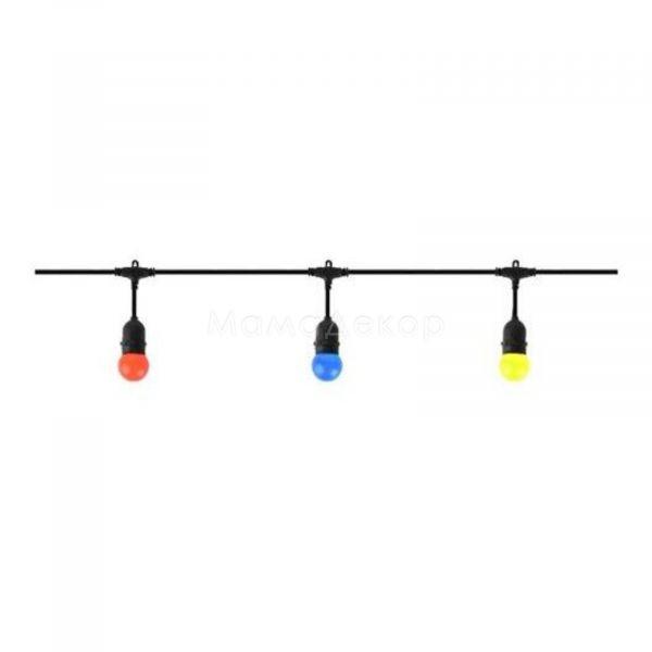 Декоративний світильник Horoz Electric 022-001-0001-010 Carnaval-1, колір — чорний