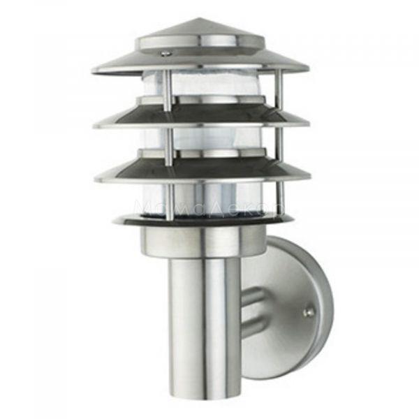 Бра Horoz Electric 075-003-0002-010 Kayin-2, колір плафону — матовий, колір основи — сталевий