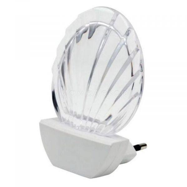 Настінний світильник Kanlux 14840 Sheldo LED, колір плафону — прозорий, колір основи — білий