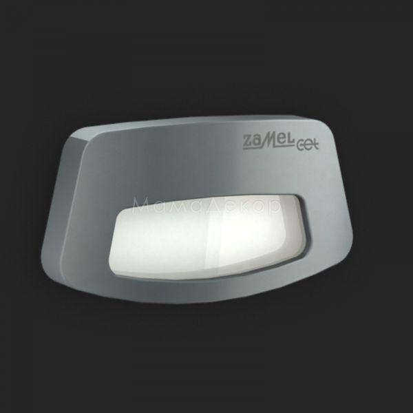Настінний світильник Ledix 03-111-36 Tera, колір плафону — графіт, білий, колір основи — графіт