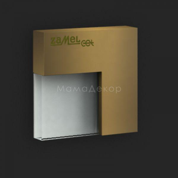 Настенный светильник Ledix 04-111-41 Tico, цвет плафона — старое золото, белый, цвет основания — старое золото