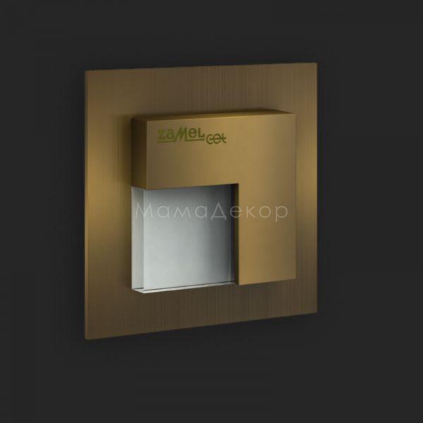Настінний світильник Ledix 05-111-42 Tico, колір плафону — старе золото, білий, колір основи — старе золото