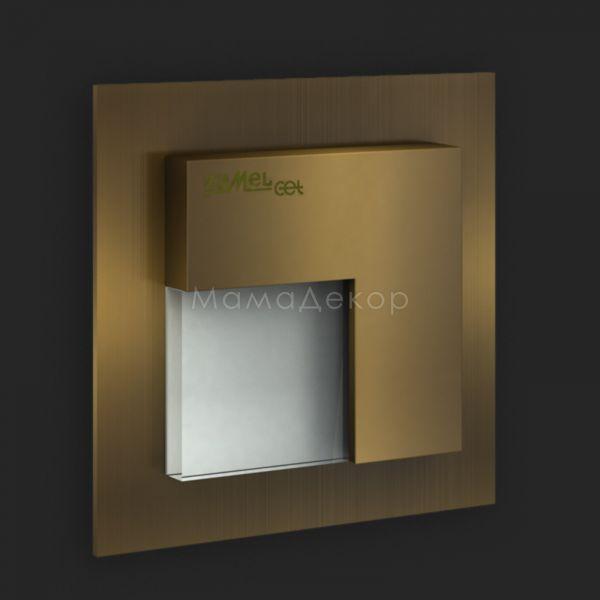 Настінний світильник Ledix 07-111-41 Timo, колір плафону — старе золото, білий, колір основи — старе золото