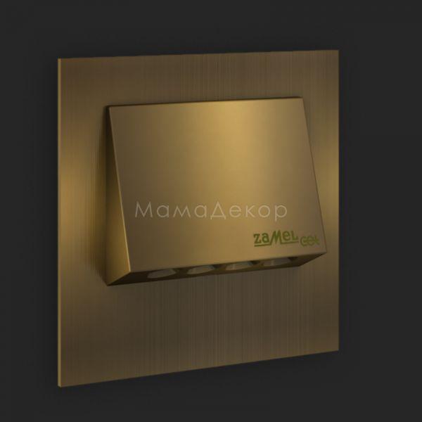 Настінний світильник Ledix 11-111-42 Navi, колір — старе золото