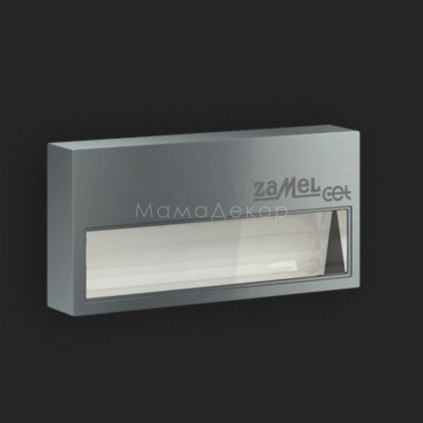 Настінний світильник Ledix 12-111-32 Sona, колір плафону — графіт, прозорий, колір основи — графіт