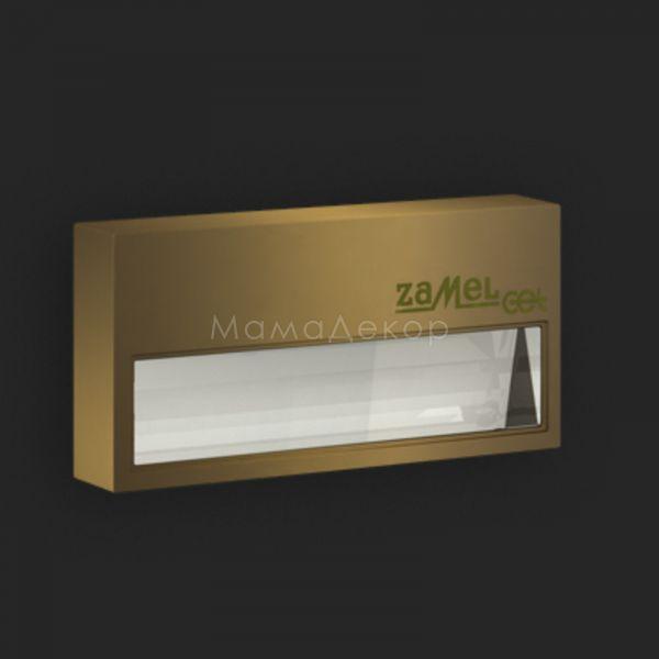 Настінний світильник Ledix 12-111-42 Sona, колір плафону — старе золото, прозорий, колір основи — старе золото