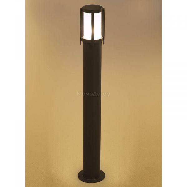 Парковий світильник Nowodvorski 3396 Sirocco, колір плафону — білий, колір основи — чорний