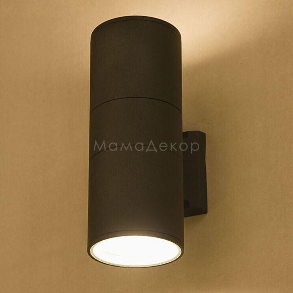 Настінний світильник Nowodvorski 3404 Fog, колір — графіт