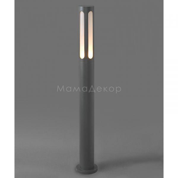 Парковий світильник Nowodvorski 4698 Mekong, колір — чорний