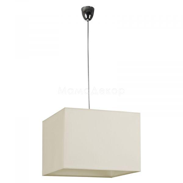 Підвісний світильник Nowodvorski 5523 Hotel, колір плафону — білий, колір основи — хром