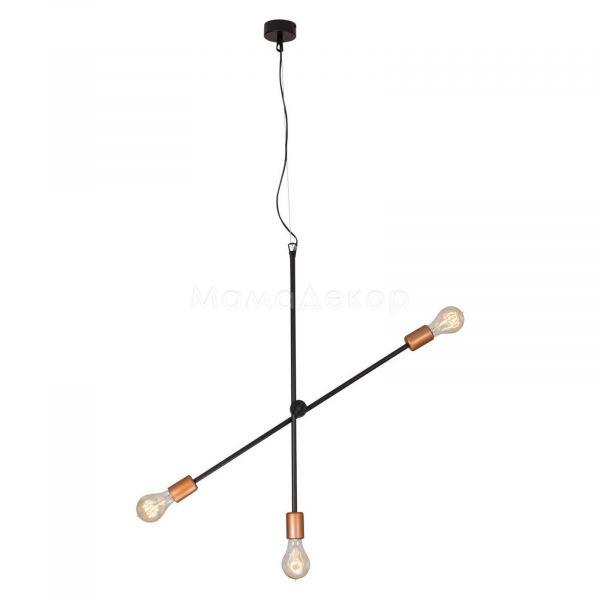Люстра Nowodvorski 6268 Sticks, колір — чорний, мідний
