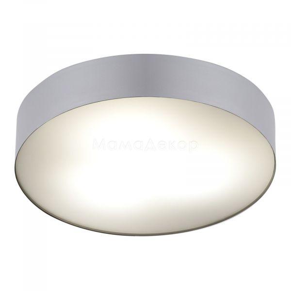 Стельовий світильник Nowodvorski 6770 Arena Silver, колір плафону — срібло, білий, колір основи — срібло