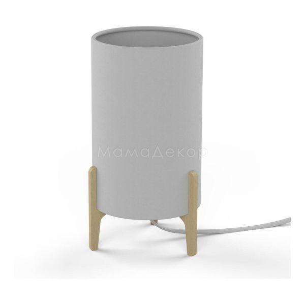 Настольная лампа Nowodvorski 8490 Rocket White, цвет плафона — белый, цвет основания — натуральный