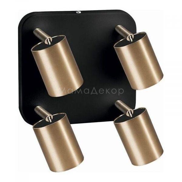 Спот Nowodvorski 8820 Eye Spot Brass, колір — чорний