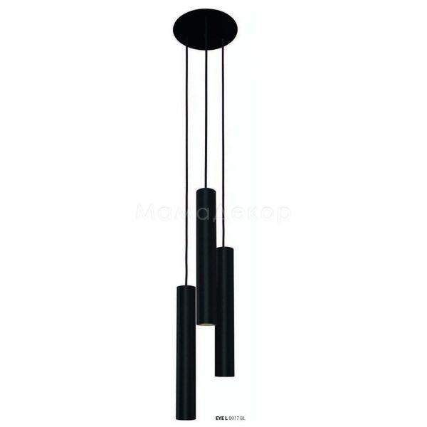 Підвісний світильник Nowodvorski 8917 Eye Black III L, колір — чорний