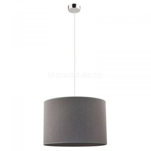 Підвісний світильник Nowodvorski 9298 Hotel, колір плафону — сірий, колір основи — хром