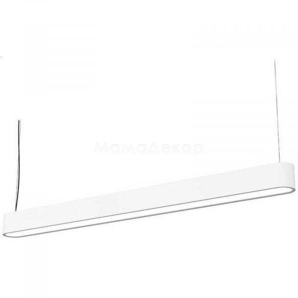 Підвісний світильник Nowodvorski 9547 Soft LED, колір плафону — білий, колір основи —  пластик