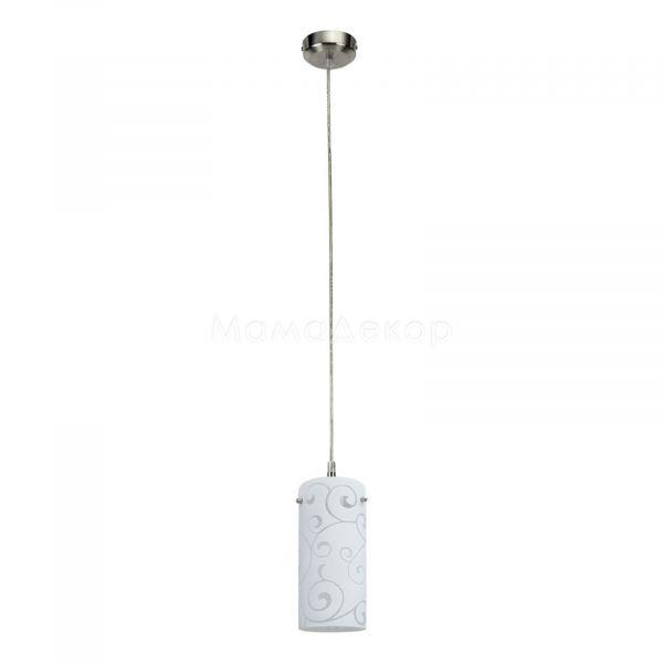 Подвесной светильник Rabalux 6391 Harmony Lux, цвет плафона — опаловый, цвет основания — хром