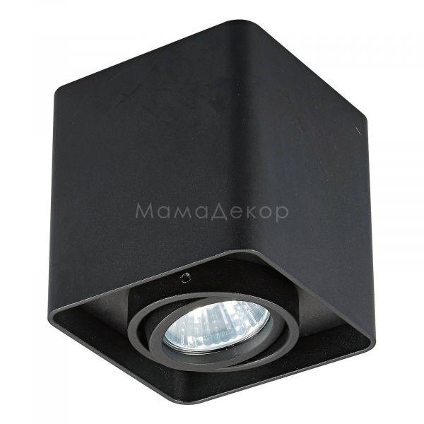 Точковий світильник Zuma Line 20039-BK Quadro SL, колір — чорний