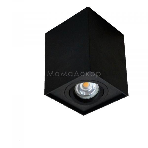Точковий світильник Zuma Line 89200-BK Quadro, колір — чорний