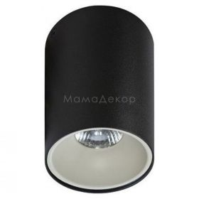 Точковий світильник Azzardo AZ0818 + AZ0822 Remo BK+Remo R WH, колір плафону — чорний, білий, колір основи — чорний