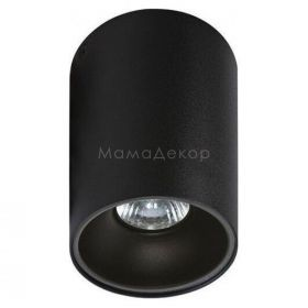 Точковий світильник Azzardo AZ0818 + AZ0823 Remo BK+Remo R BK, колір — чорний