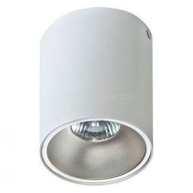 Точковий світильник Azzardo AZ0819 + AZ0821 Remo WH+Remo R ALU, колір плафону — білий, алюміній, колір основи — білий