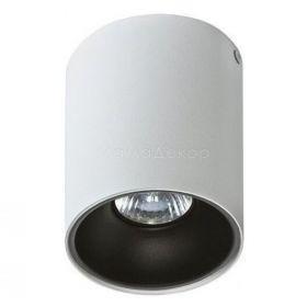Точковий світильник Azzardo AZ0819 + AZ0823 Remo WH+Remo R BK, колір плафону — білий, чорний, колір основи — білий