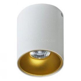 Точковий світильник Azzardo AZ0819 + AZ0824 Remo WH+Remo R GO, колір плафону — білий, золото, колір основи — білий