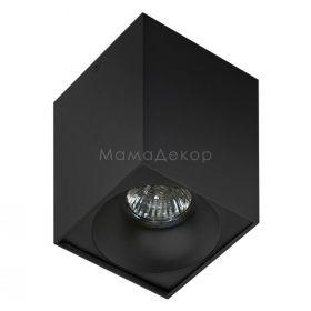 Точковий світильник Azzardo AZ0826 + AZ0832 Hugo BK+Hugo R BK, колір — чорний