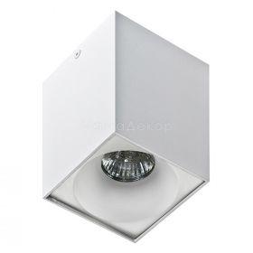 Точковий світильник Azzardo AZ0827 + AZ0830 Hugo WH+Hugo R WH, колір — Білий