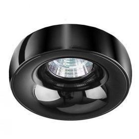 Точковий світильник Azzardo AZ1480 + AZ1484 Adamo Ring, колір — чорний хром
