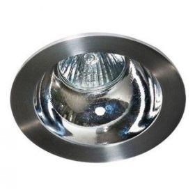 Точковий світильник Azzardo AZ1729 + AZ0855 Remo 1 Downlight, колір плафону — алюміній, хром, колір основи — алюміній