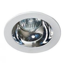Точковий світильник Azzardo AZ1731 + AZ0855 Remo 1 Downlight, колір плафону — білий, хром, колір основи — білий