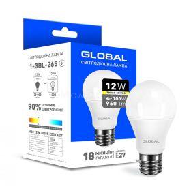 Global 1-GBL-265 A60 12W 3000K E27