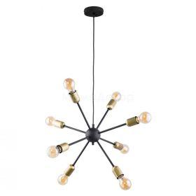 TK Lighting 1468 Estrella Black