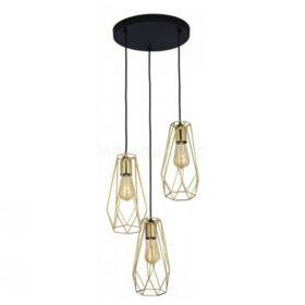 TK Lighting 2697 Lugo Gold
