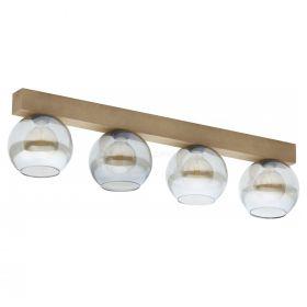 TK Lighting 4257 Artwood Glass